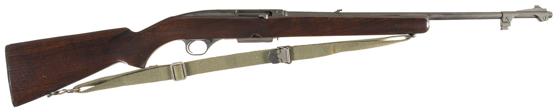 winchester military model 100 semi automatic rifle