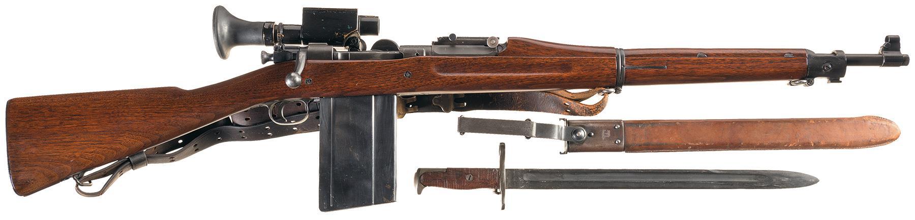 U S  Model 1903 Springfield Rifle with Model 1913 Sight