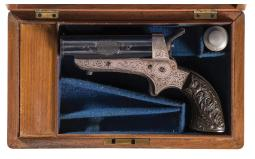 Tipping & Lawden  Four Barrel Pepperbox