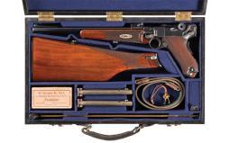 DWM Model 1902 Luger Semi-Automatic Carbine Rig