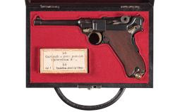 DWM Model 1906/20 Swiss Contract Luger Semi-Automatic