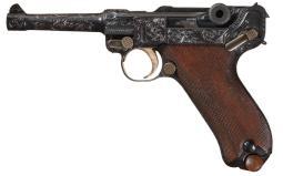 DWM 1913 Dated Model 1908 Luger Semi-Automatic Pistol