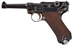 Mauser Luger 1940 Dutch Pistol