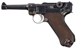 DWM 1915 Dated Luger Pistol with British Proofs, 1915 Holster