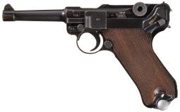 Mauser S/42 1937 Luger Pistol