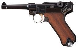 Inter-War Era Simson & Company Luger Semi-Automatic Pistol