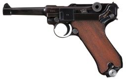 Mauser 42 Code 1940 Date Luger with Holster and Extra Magazine