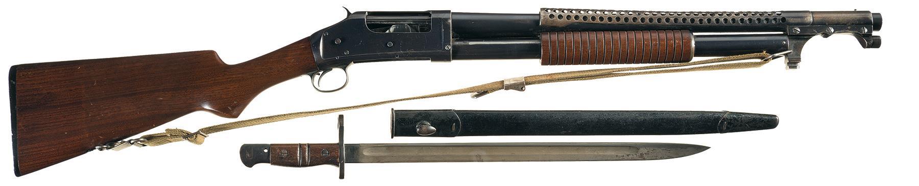 winchester 1897 riot gun serial numbers