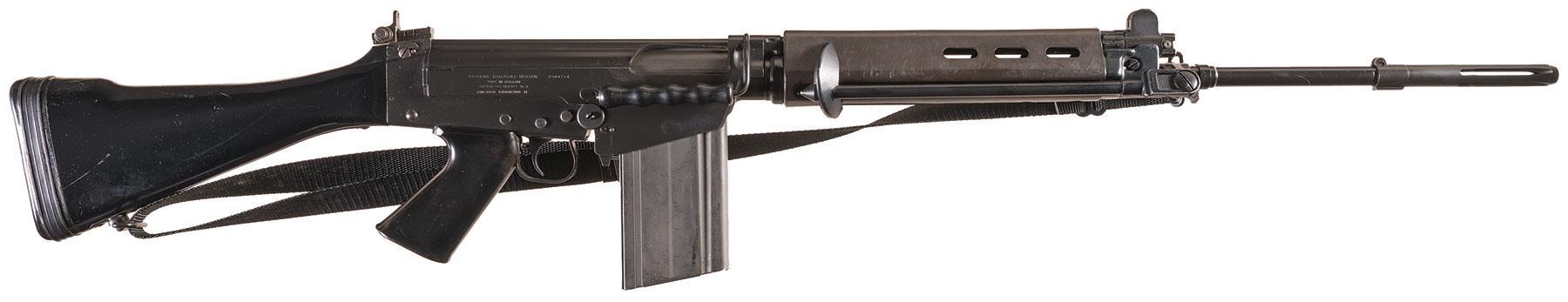 Belgian Fabrique Nationale FAL Semi-Automatic Rifle