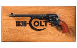 Cased Engraved Colt 150th Anniversary Buntline SAA