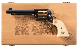 Colt Alamo Model Single Action Army Revolver with Case