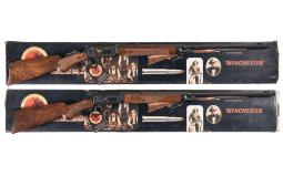 Pair of Winchester Model 94 Limited Edition Centennial Rifles