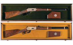 Two Canadian Commemorative Winchester Model 94 Carbines