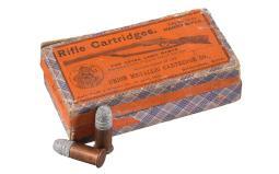 Box of UMC .44 Henry Rimfire Cartridges Picture Box