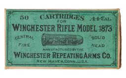 Antique Winchester Repeating Arms Co. 50 Round Box of .44-40