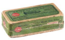 Remington-Union Metallic Cartridge Co. .44 Henry Ammunition Box