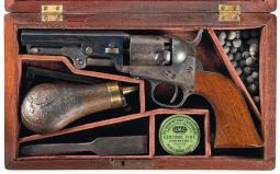 Cased Colt Model 1849 Pocket Percussion Revolver