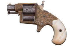 L.D. Nimschke Engraved Colt Cloverleaf House Model Revolver