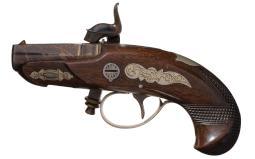 Butterfield Patent Deringer Style Pocket Pistol