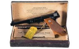 Colt 1941 Production First Series Woodsman Match Target