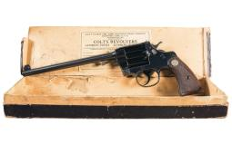 First Year Production Colt Camp Perry Model Single Shot Pistol