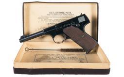Pre-World War II Colt Woodsman Target Model Semi-Auto