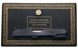 Gold Inlaid Colt 22 LR Conversion Unit-Chairman George Strichman