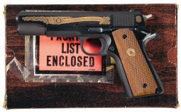 Colt MK IV Pistol 45 ACP Special Edition