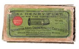 Full Box of Remington-UMC .44 Henry Flat Ammunition