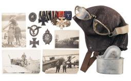 German Military Aviation Archive Spanning Two World Wars