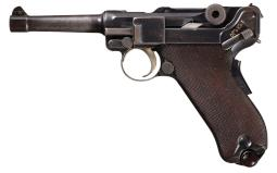 DWM Model 1906 Russian Contract Semi-Automatic  Luger Pistol