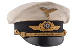 Luftwaffe General's Summer Cap, Attrib.to WWI Ace/WWII General
