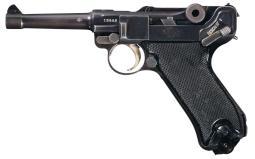 Krieghoff 1945 Luftwaffe Luger, w/Holster, in