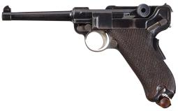 DWM Model 1900 American Eagle Luger Semi-Automatic Pistol