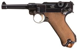DWM Model 1920 Commercial Luger Semi-Automatic Pistol w/ Holster
