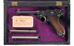 DWM 1900 Luger Pistol