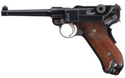 DWM American Eagle 1906 Luger Pistol w/Ideal Grips