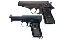 Collector's Lot of Two German Semi-Automatic Pistols
