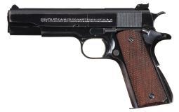 Excellent Pre-War Colt Super 38 Match Semi-Automatic Pistol
