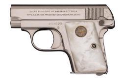 Colt - 1908 Vest Pocket Nickel Plated