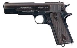 Scarce U.S. Navy Marked Colt Model 1911 Semi-Automatic Pistol