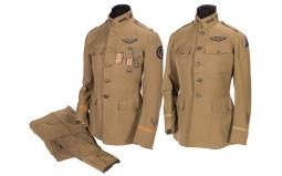 Two WWII Aviation Section/Signal Corps Flight Officer Uniforms