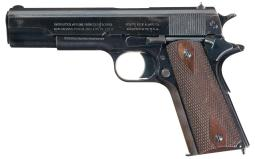 U.S. Colt Model 1911 Semi-Automatic Pistol with Extra Magazines