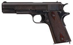 World War I U.S. Army Colt Model 1911 Semi-Automatic Pistol