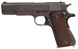 World War II U.S. Army Colt Model 1911A1 Semi-Automatic Pistol