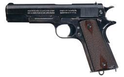 U.S. Colt 1911 Pistol, 1917 Production