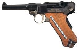 Mauser Luger Pistol 9 mm para