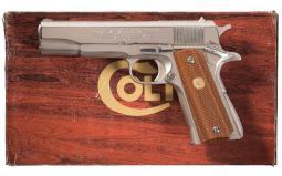 Colt MK IV Series 70 Super 38 Government Model Semi-Automatic