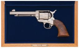 Second Generation Colt Single Action Army Revolver with Case