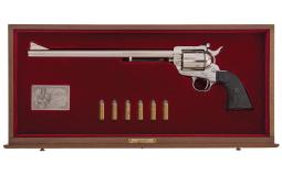 Cased Colt Ned Buntline New Frontier Single Action Army Revolver